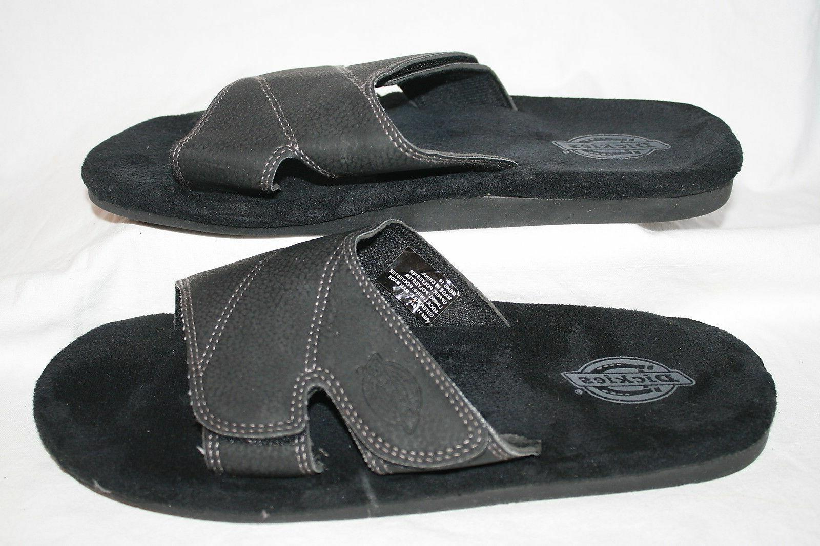 new mens slide sandals style 119841 black