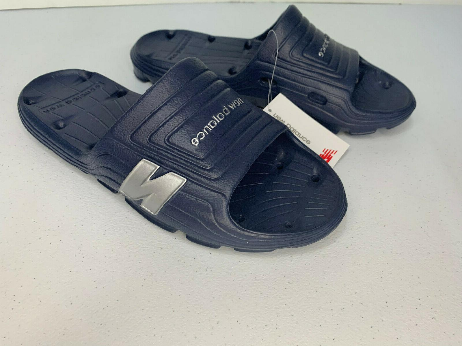 NEW 8 10 12 New Balance Float Men's Lightweight Sandal BLUE