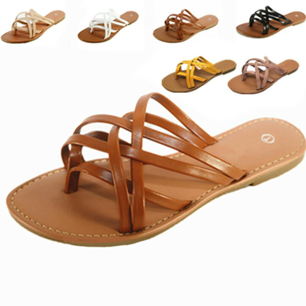New Sandals Shoes Thong Flat Size Slipper