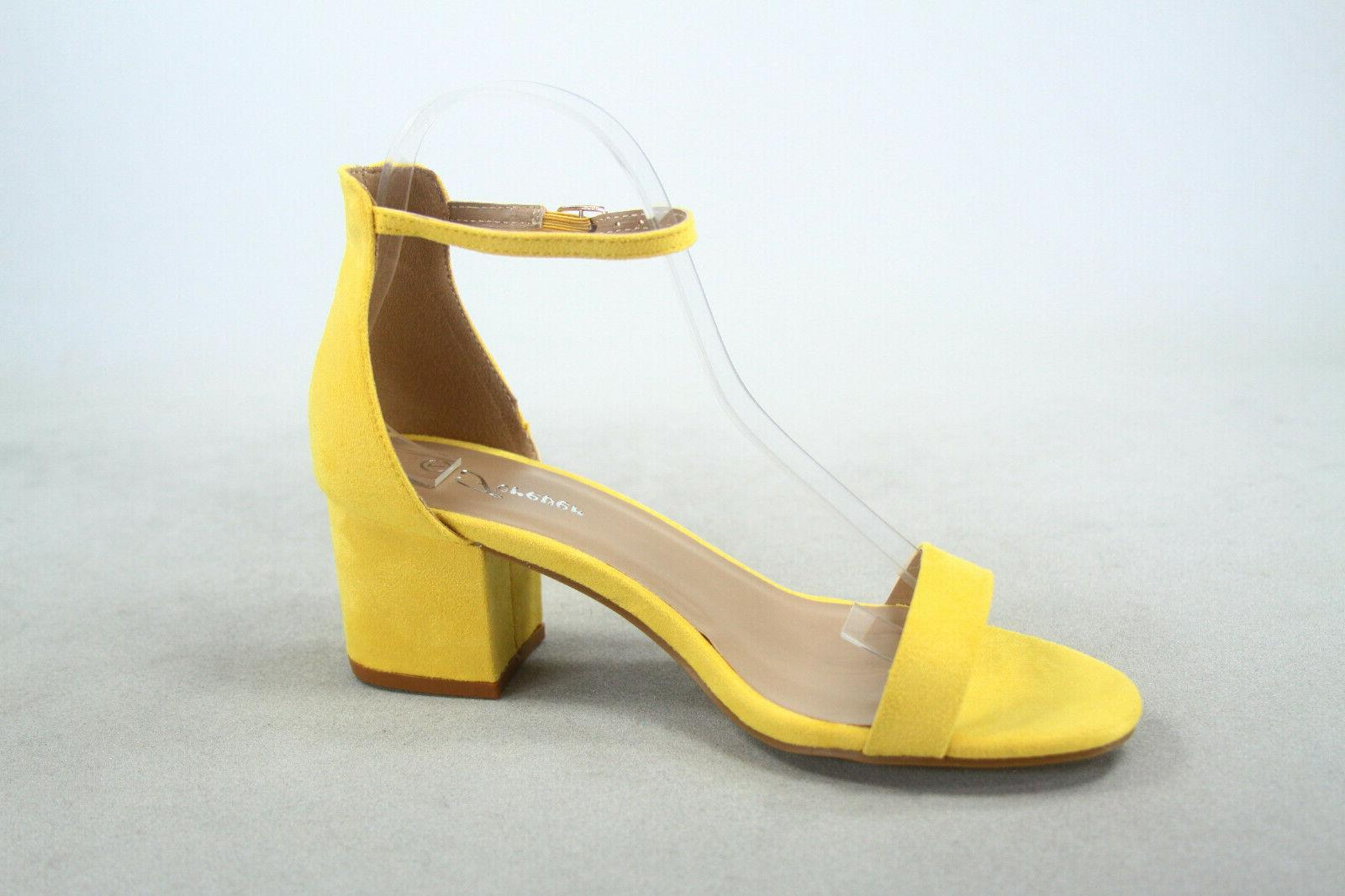 NEW Women's Ankle Chunky Heel Size 5