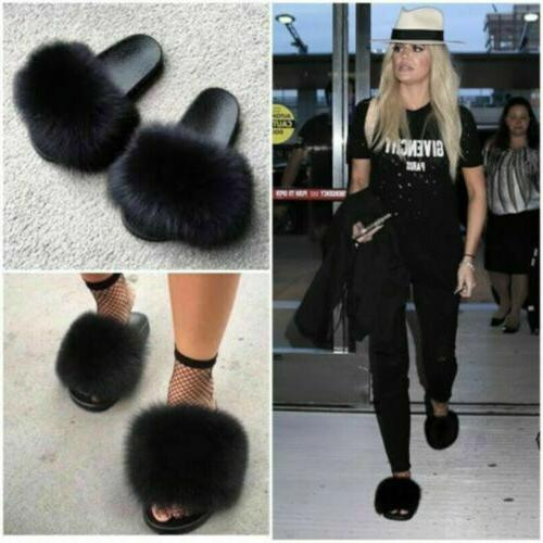 Real Plus Slippers/Slides Fashion Sandals Women's Flat