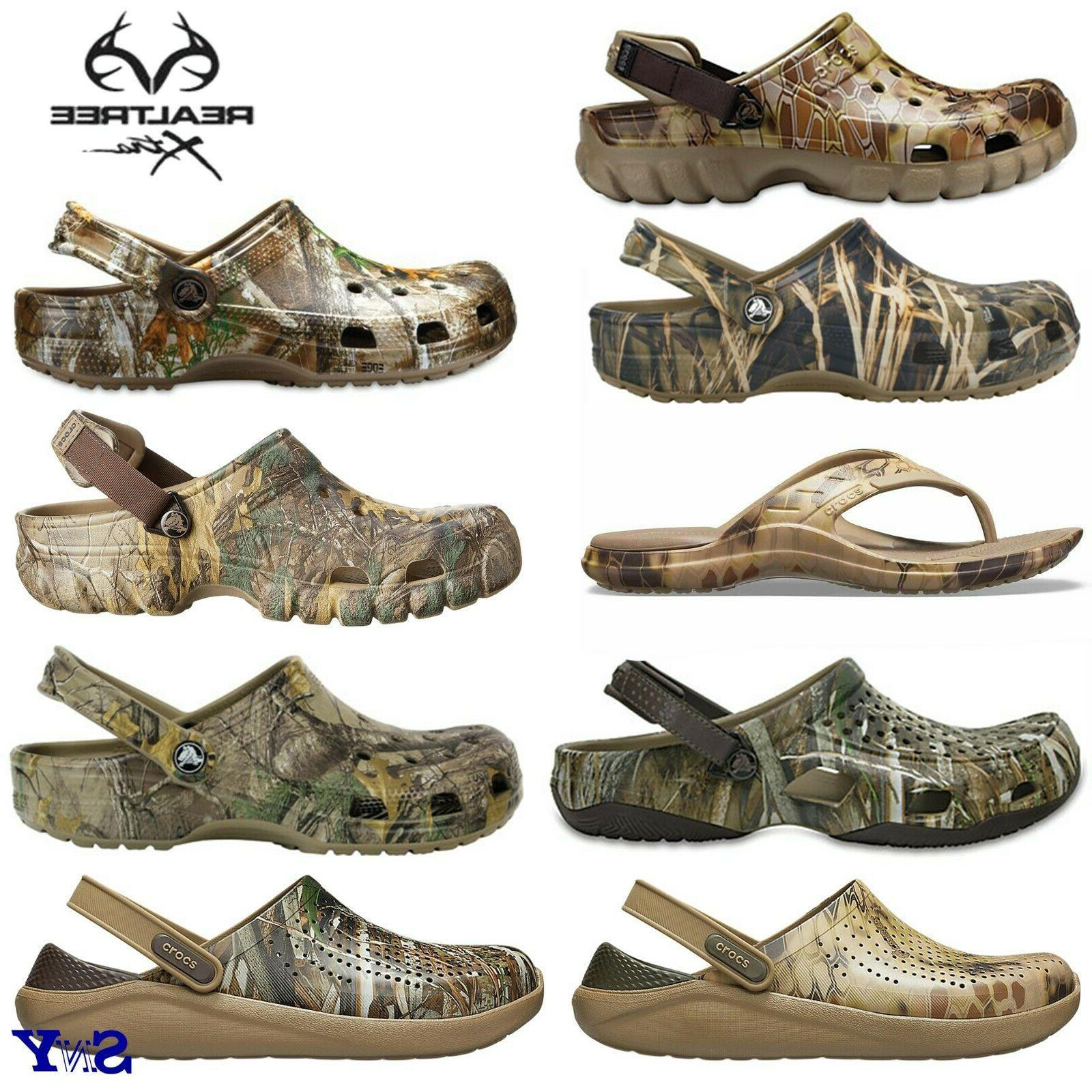realtree camo clogs flip flops sandals shoes