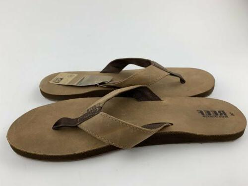 Reef Leather Brown