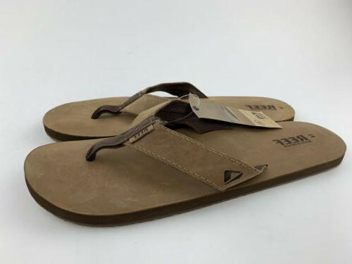 Reef Leather Brown New