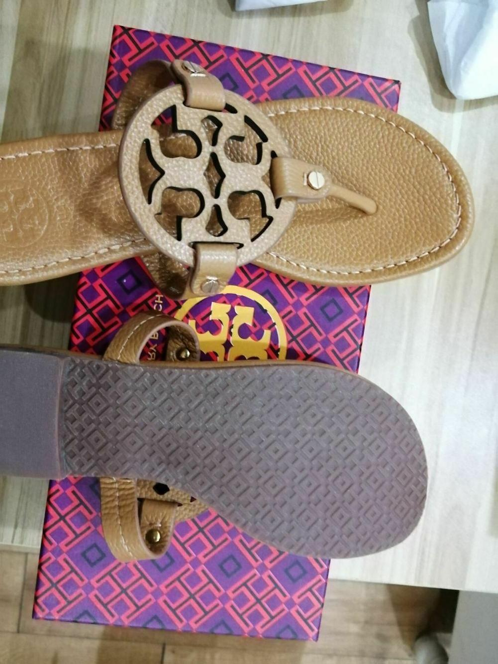 tory burch miller sandals royal size 7