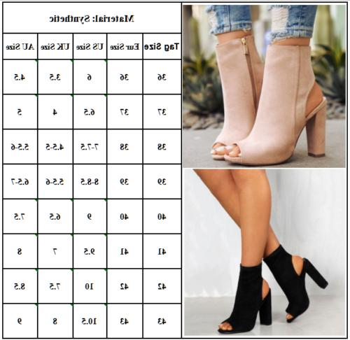 US Womens High Ankle Strapped Sandals Party Pumps Size