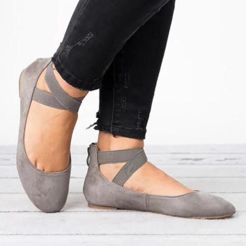 Women Ballerina Shoes On Shoes