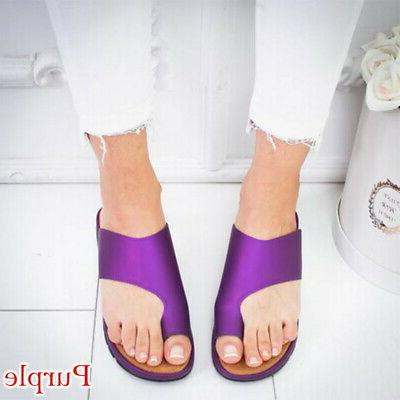 US STOCK Women Sandal LEATHER- Bunion