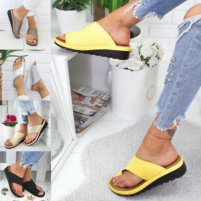 US STOCK Sandal Shoes LEATHER- Bunion