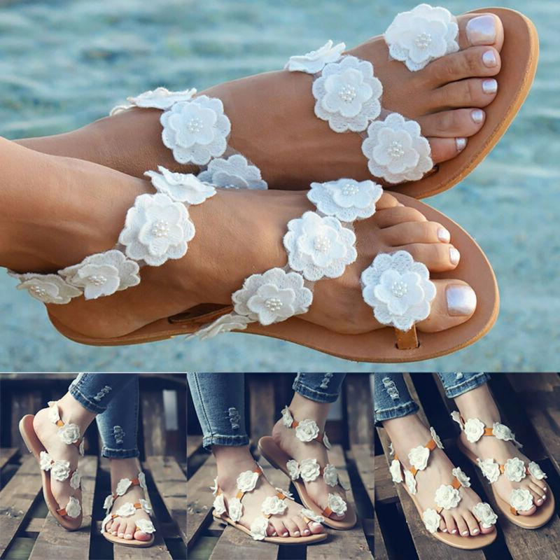 Flats Holiday Sandals Slipper Shoes