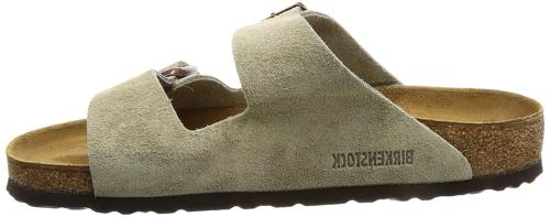 Birkenstock Women's Suede Leather Natural Sandals