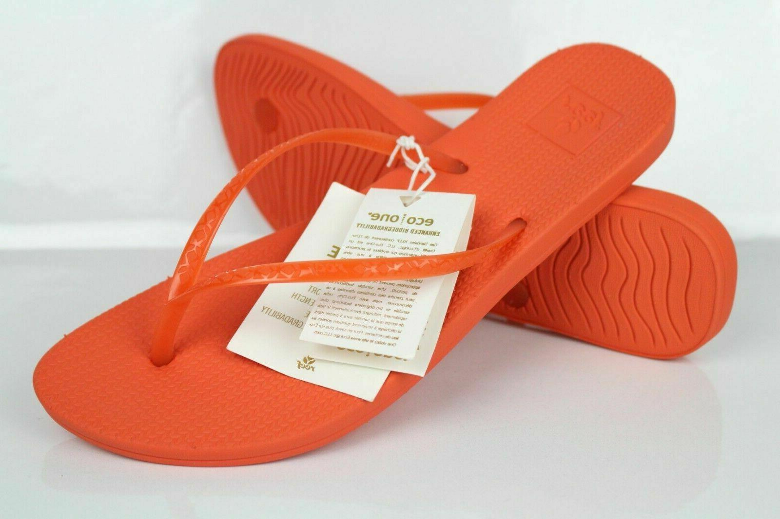 Reef Women's Escape Lux Flip Flop Sandals Flame Orange RF0A2