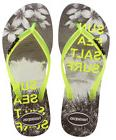 Havaianas Women`s Flip Flops Slim Paisage Sandal White and Y