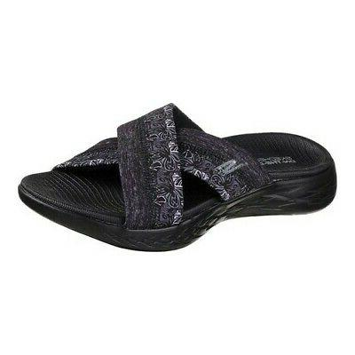 Skechers Women's   On the GO 600 Monarch Slide Sandal