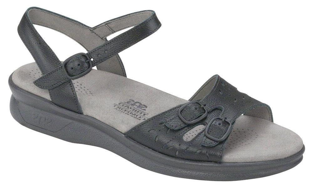 SAS Shoes Duo Sandal Black FREE In Save$