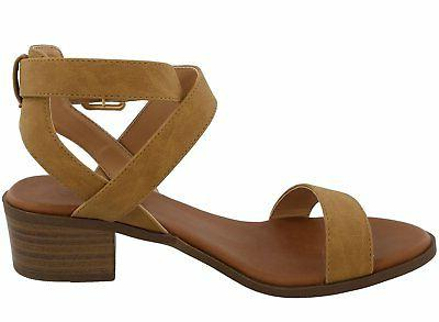 Top Ankle Strap Open Heeled
