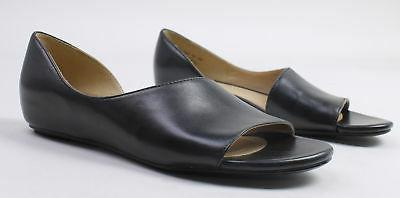 womens lucie narrow leather sandals black size