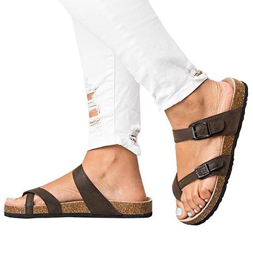 Ermonn Thong Sandals Cork