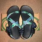 Chaco Womens Z1 Classic Size 5 US Blue Daisy Ultraviolet  Gl