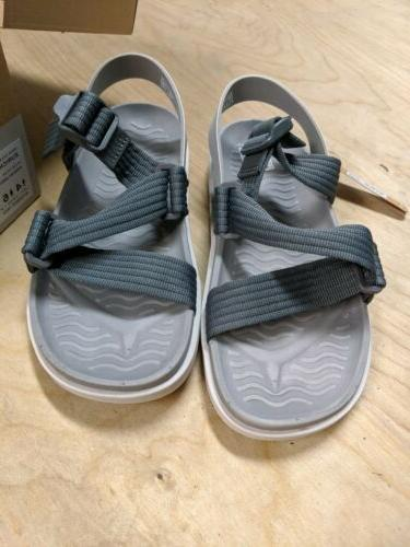 Native Sandals Grey Unisex Women's Men's 4