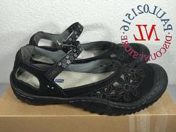 JBU Ladies' Wildflower Sandals ~ Black ~ Various Sizes ! !