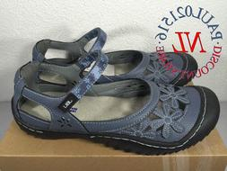 JBU Ladies' Wildflower Sandals ~ Blue ~ Various Sizes ! !
