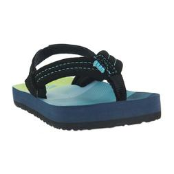 REEF LITTLE AHI SANDALS AQUA GREEN RF002345 AGN KIDS TODDLER