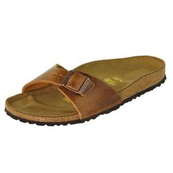Birkenstock Madrid Oiled Leather Sandals