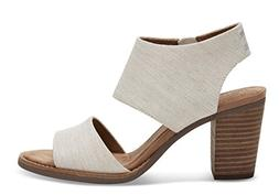 Toms Women's Majorca Cutout Sandal - Natural Yarn-dye, 9 B