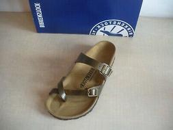 BIRKENSTOCK MAYARI SANDALS - BIRKO-FLOR- GOLDEN BROWN - STYL