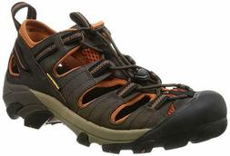 KEEN Men's Arroyo II Hiking Sandal - Black Olive/Bombay Brow