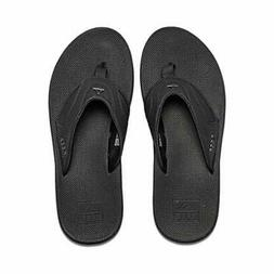 men s fanning flip flop color black