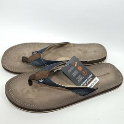 DOCKERS Men's Premium  Flip Flops Thongs Sandals Shoes NWT S