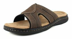 Dockers Men's Sunland Slide Dark Brown Synthetic sandals