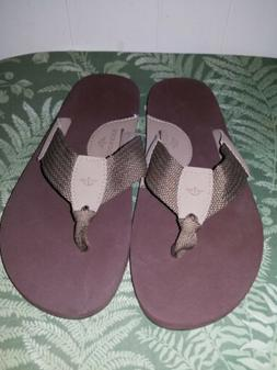 Men's SZ 10 DOCKERS Flip Flops Shoes Sandals NEW No Box