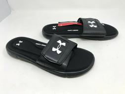 Mens Under Armour  Ignite V Black Slides Sandals