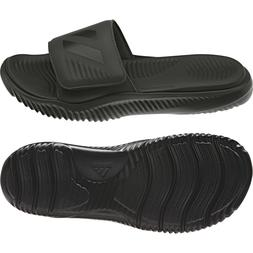Adidas Mens Alphabounce Black Slides Athletic Sport Sandals
