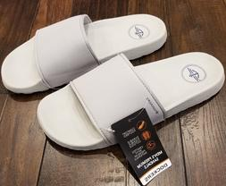 Mens Dockers Molded Sport Slide Sandals Sizes: L, XL Light G