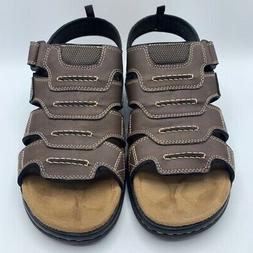 Dockers Mens Shorewood Fisherman Sandals Brown 90-21369 Hook