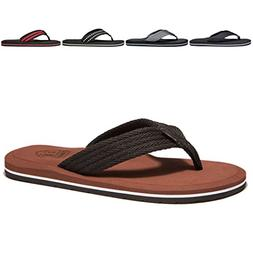NewDenBer NDB Men's Classical Light Weight III Flip-Flop  US