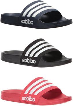 uk availability 8ef34 6a50e adidas Neo Mens Cloudfoam Adilette Slide Sandals, 3 Colors