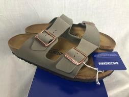 NEW BIRKENSTOCK ARIZONA WOMENS SHOES SANDALS 41 LEATHER 10-1