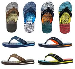 New Boys Multi Colors Print  Bali Sandals Beach Flip Flop si