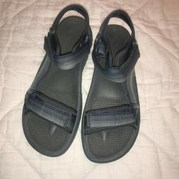 NEW Cloudsteppers by Clarks Mens Sandals GRAY MENS SIZE 12 M