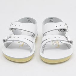 New Hoy Shoes Sun San Baby Toddler Salt Water Sandals White