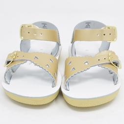 New Hoy Shoes Sun San Toddler Kids Salt Water Sandals Gold S