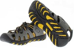 New Khombu Kids Boys Closed Toe Sport Sandal Shoe