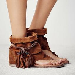 New FREE PEOPLE 'Marlo' Bootie Sandals sz 41, 10