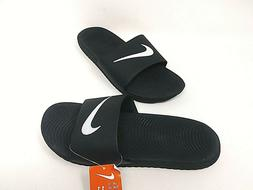 NEW! Nike Men's Kawa Slide Sandals Black/White #832646-010 8