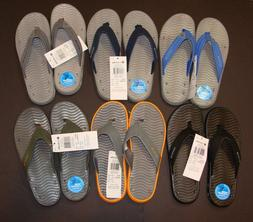 New Men's Columbia Vent Cush Flip Flops Sandals Size 10 12